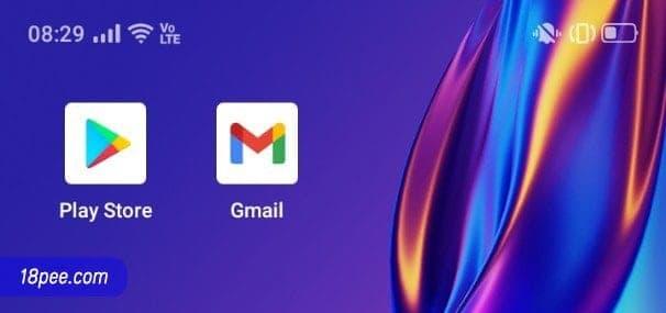 วิธีสมัครอีเมล กดเลือกแอป Gmail บนโทรศัพท์มือถือ